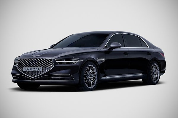 A picture of the Genesis G90 Stardust Edition
