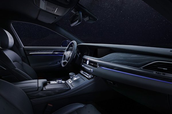 A picture of the G90 Stardust's interior