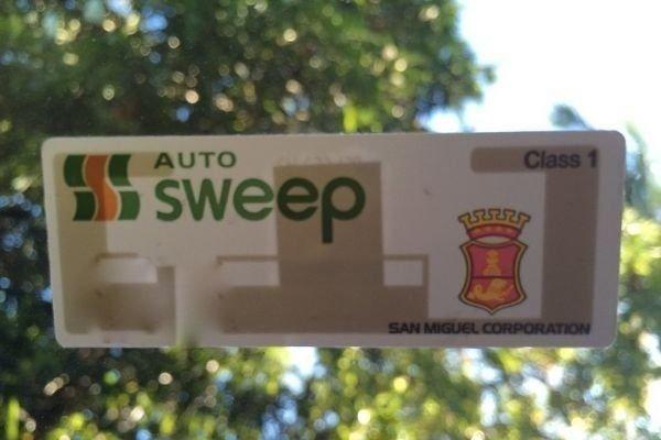 Autosweep RFID