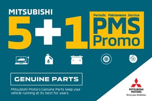 The Mitsubishi 5+1 PMS promo poster