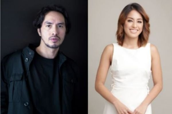 A picture of Gretchen Ho and Rico Blanco