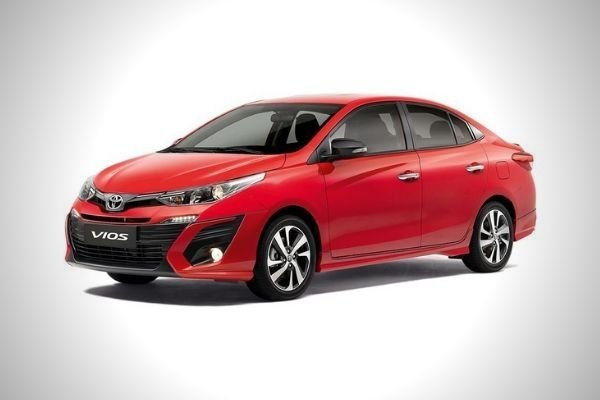 A picture of the Toyota Vios