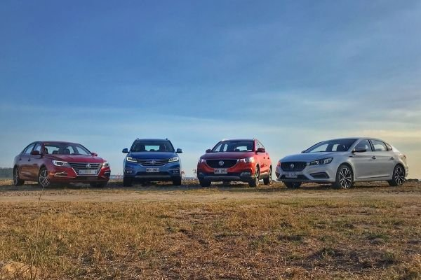 The MG Philippine lineup