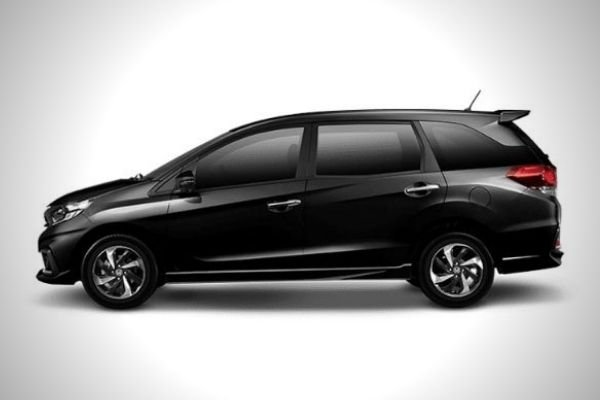 A picture of the side of a Honda Mobilio
