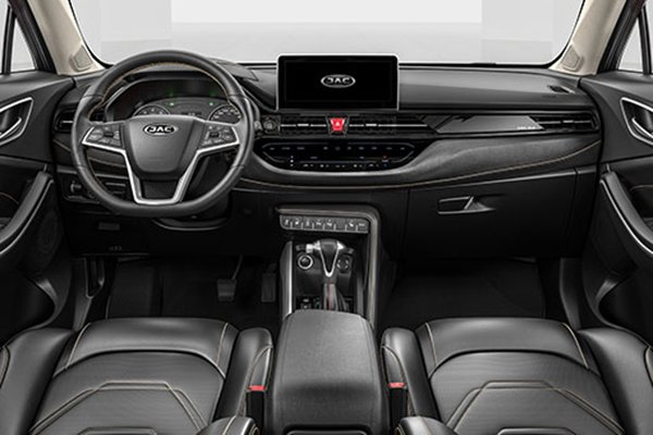 A Picture of the JAC S4's interior