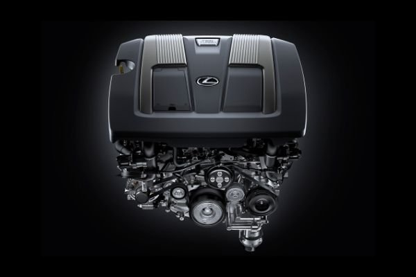 The engine of the LS