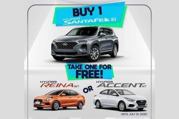 Hyundai's buy one take one promo