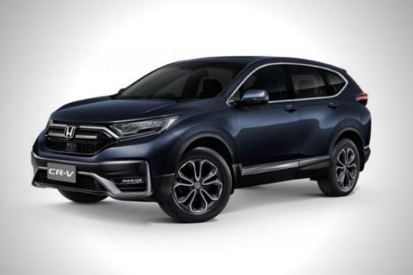 A picture of the front of the new Honda CR-V