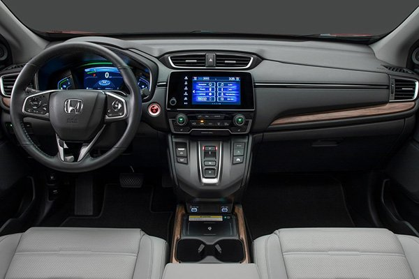 A picture of the interior of the Honda CR-V