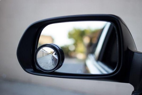 round blind spot mirror with frame