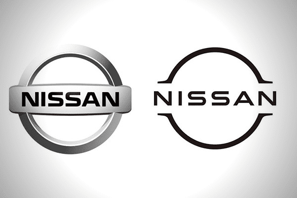 Nissan Old and New Logo