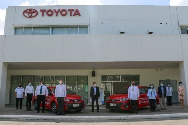 Taken in Toyota's manufacturing plant in Laguna