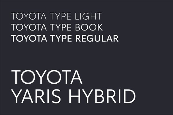 A picture of the Toyota type