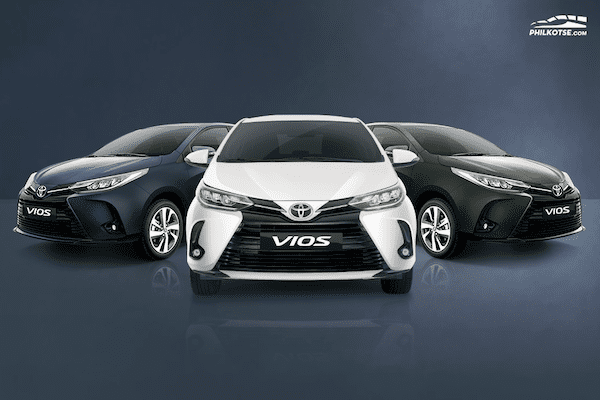 2020 toyota vios different angle fascia