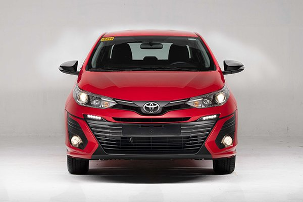 2019 toyota vios front old
