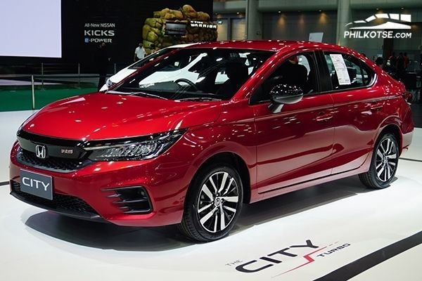 A picture of the 2020 Honda City RS Turbo at the 2020 BIMS