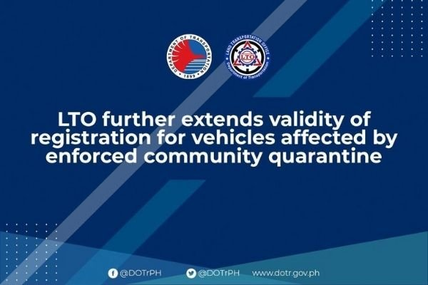 DOTr's announcement for the 30-day extension