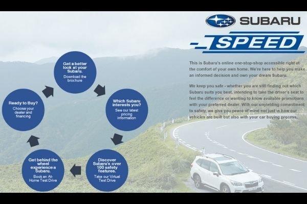 Subaru SPEED UI