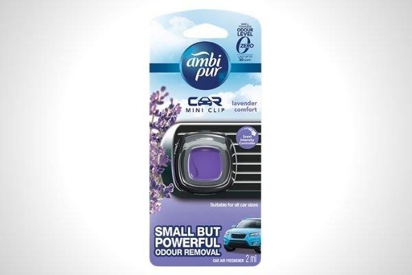 Ambi Pur Car Vent Clip Lavender Comfort 2 mL Value Pack