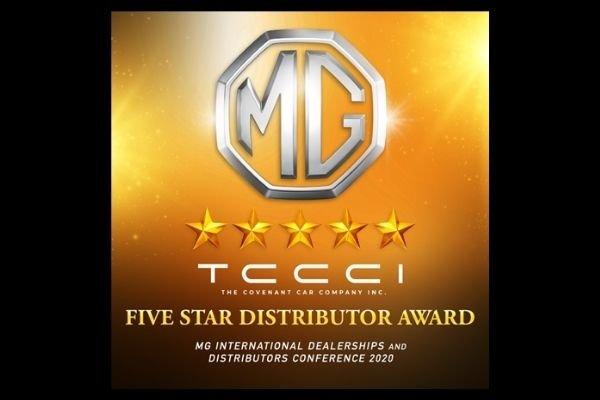 TCCCI's Five Star Distributor Award