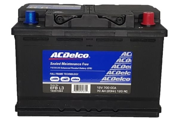 AC Delco EFB Battery L3/DIN74