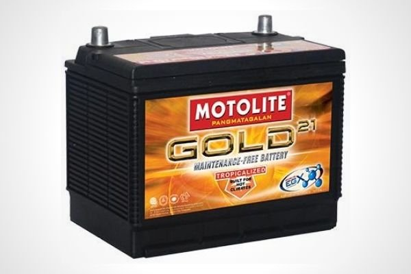 Motolite Gold 2SMF/N50 Car Battery