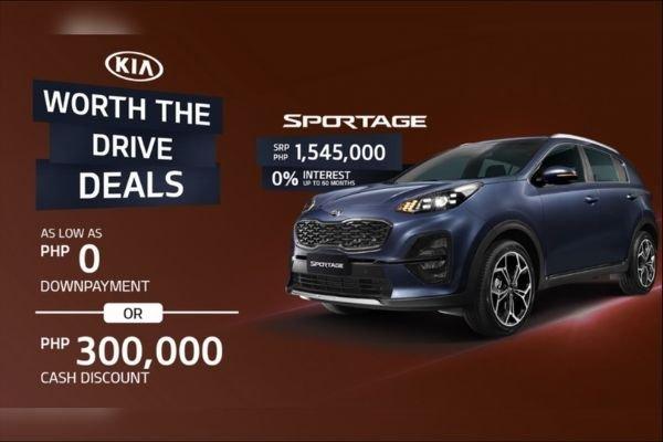The Kia Sportage promo for August