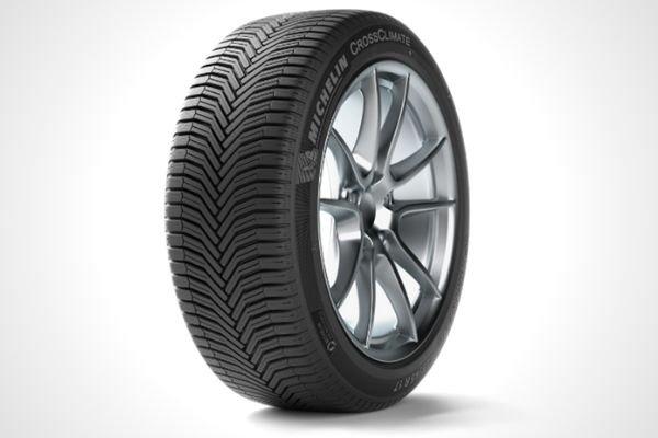 A Michelin all-season tire