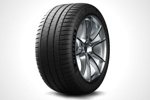 A Michelin performance tire