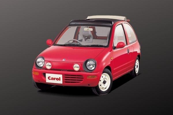 A rebadged Suzuki Alto called the Mazda Carol