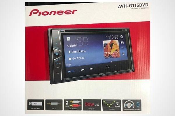 Pioneer AVH-G115 DVD In-Dash Double DIN