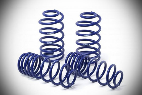 A picture of HandR lowering springs.