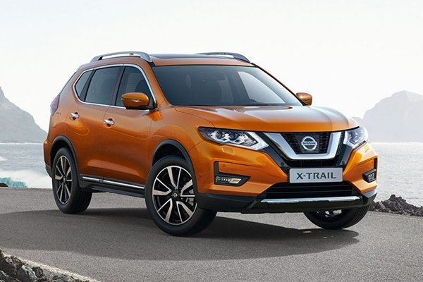A picture of the NIssan X-Trail.
