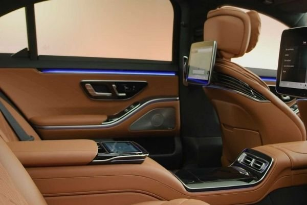 Interior view of the S-Class
