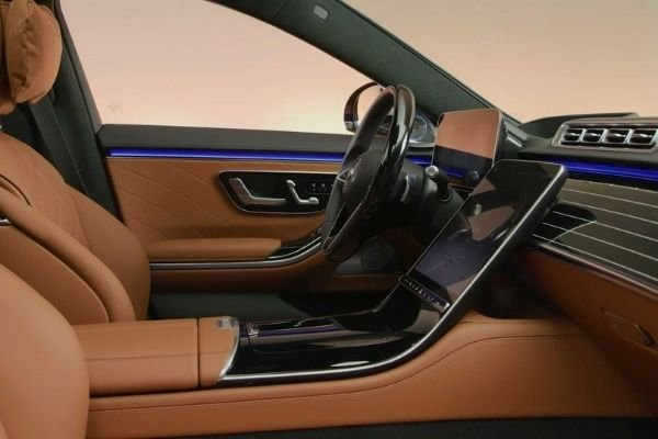 Interior view of the Mercedes-Benz S-Class