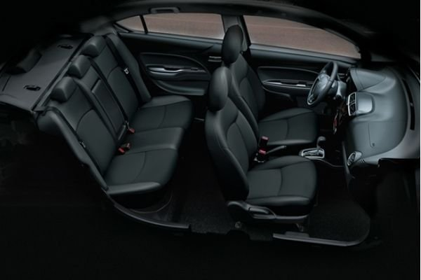 Interior view of the Mirage G4