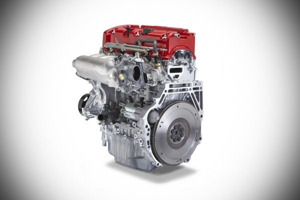 A picture of the Honda K20 engine