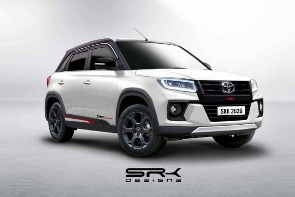 Rendered image of the Toyota Urban Cruiser