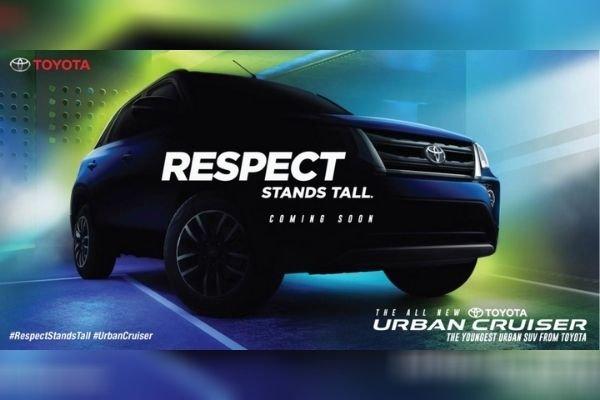 A Toyota Urban Cruiser ad