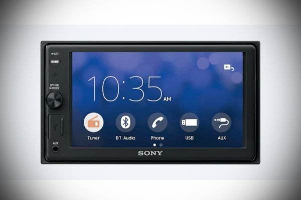 A picture of the Sony XAV-AX1000