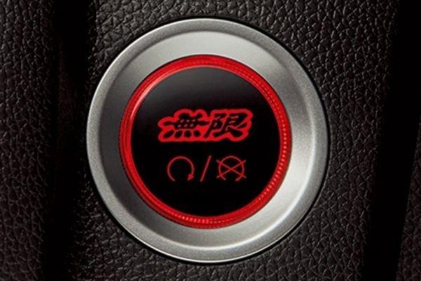Mugen's engine start/stop button for the Honda Civic Hatchback
