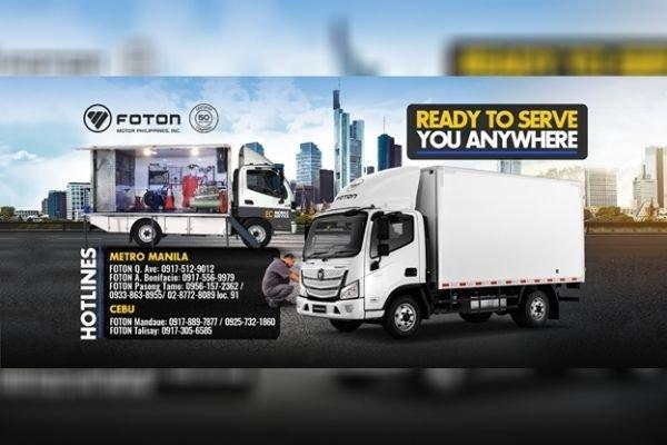 EC Mobile Service Truck ad