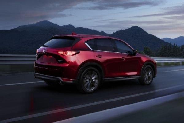 The 2021 Mazda CX-5 Crossover