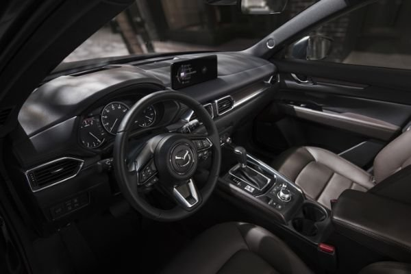 Interior view of the new CX-5