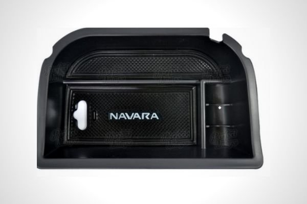 Nissan Navara Center Console Box Armrest Tray Organizer