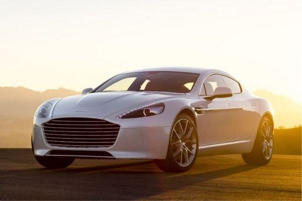 The Aston Martin Rapide.