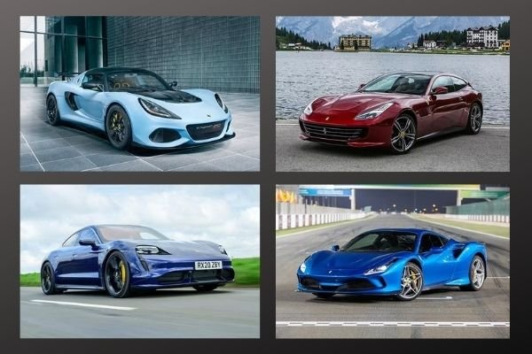 A picture of several supercars available in the Philippines