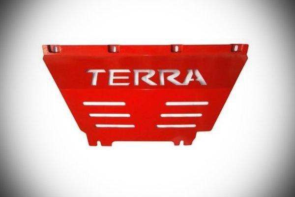 Nissan Terra skid plate