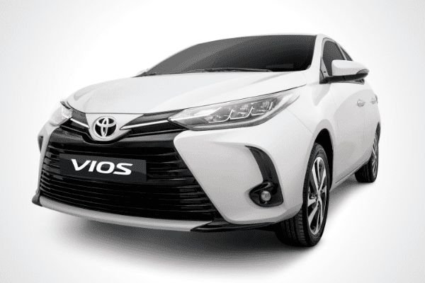 Front view of the Toyota Vios