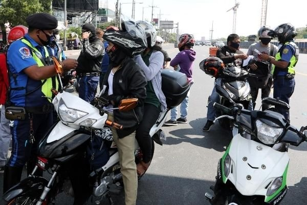 Motorcycle checkpoint